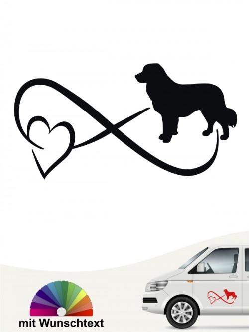 Leonberger Autoaufkleber von anfalas.de