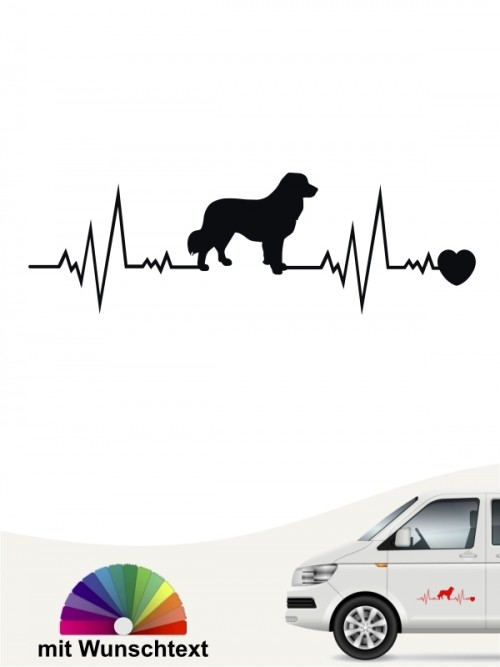 Leonberger Hundeaufkleber von anfalas.de
