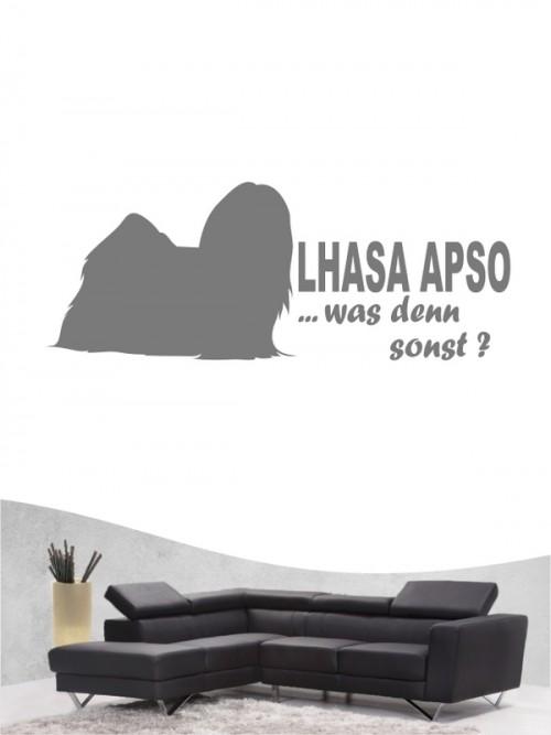 Lhasa Apso 7 - Wandtattoo