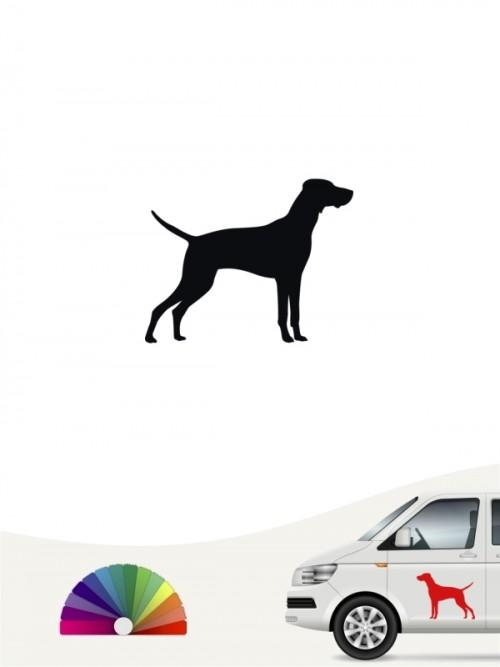 Hunde-Autoaufkleber Magyar Vizsla 1 Mini von Anfalas.de