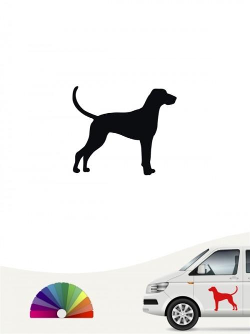 Hunde-Autoaufkleber Magyar Vizsla 1a Mini von Anfalas.de