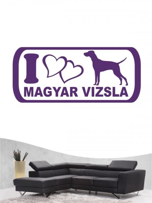 Magyar Vizsla 6 - Wandtattoo