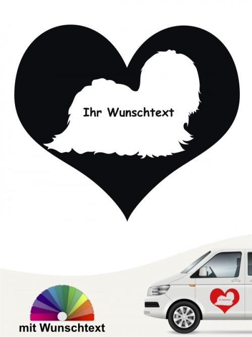 Malteser Herzmotiv Aufkleber von anfalas.de