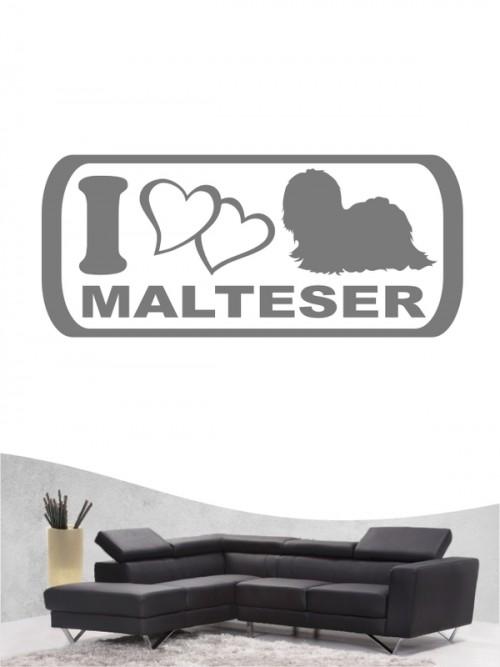 Malteser 6 - Wandtattoo