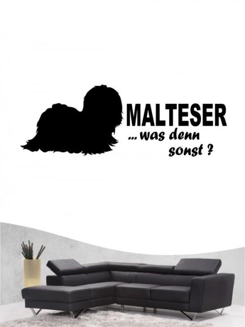 Malteser 7 - Wandtattoo