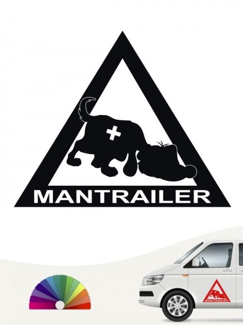 Hunde-Autoaufkleber Mantrailing 3 von Anfalas.de