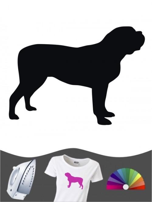 Mastiff 1 - Bügelbild