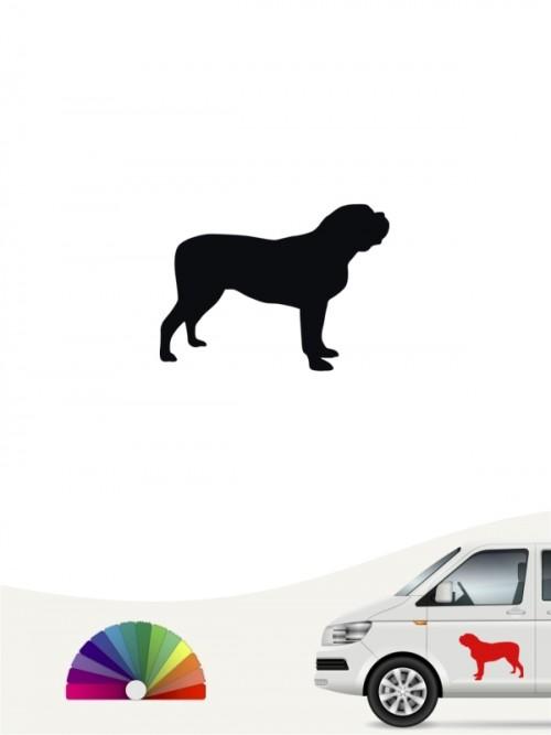 Hunde-Autoaufkleber Mastiff 1 Mini von Anfalas.de
