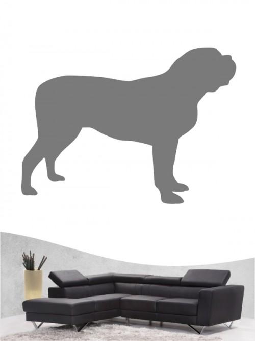 Mastiff 1 - Wandtattoo