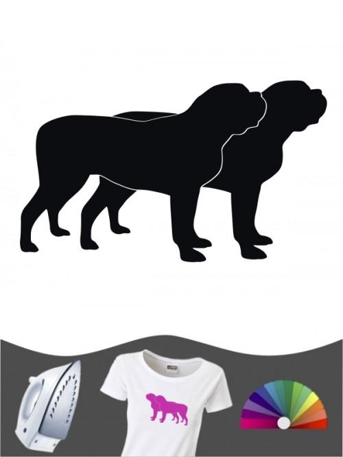 Mastiff 2 - Bügelbild