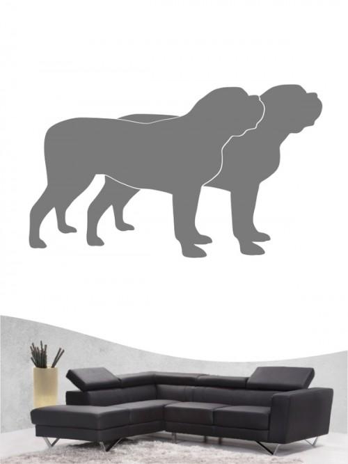Mastiff 2 - Wandtattoo