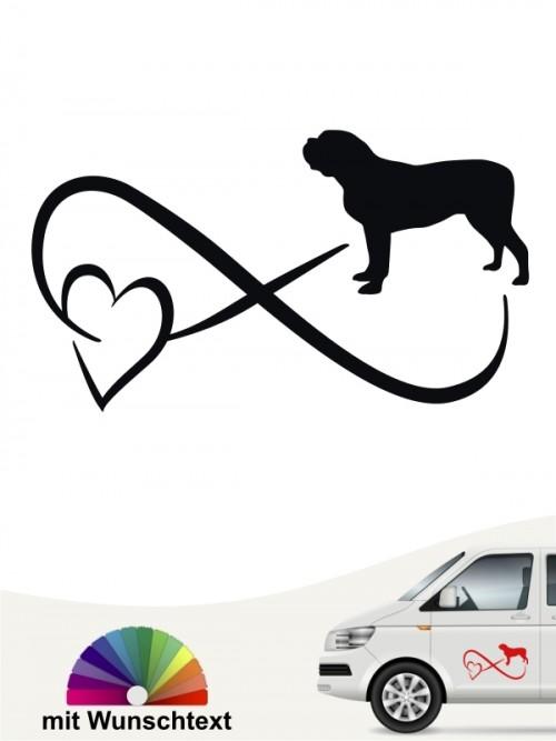 Mastiff Autoaufkleber von anfalas.de