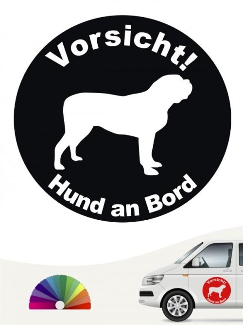 Mastiff Aufkleber von anfalas.de