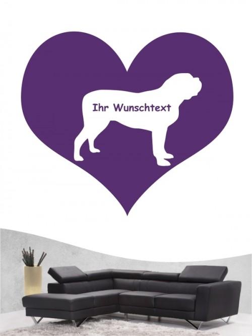 Mastiff 4 - Wandtattoo