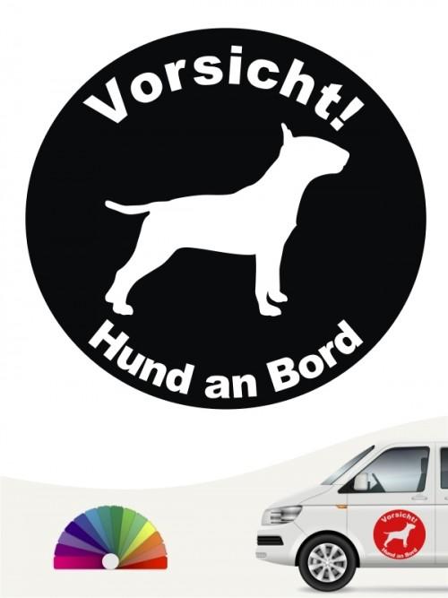 Miniature Bullterrier Aufkleber von anfalas.de