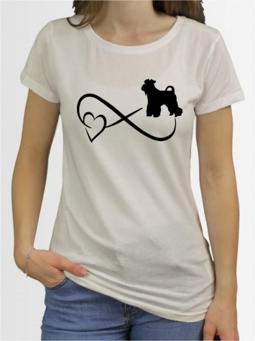 """""""Mittelschnauzer 40"""" Damen T-Shirt"""