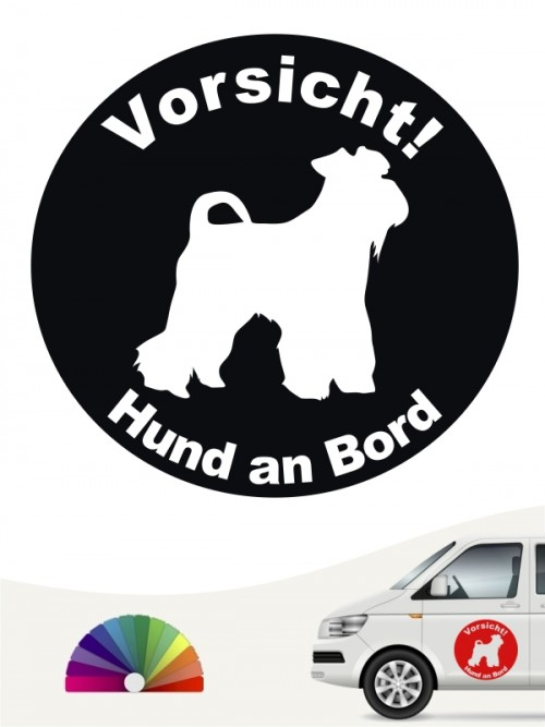 Mittelschnauzer  Aufkleber von anfalas.de