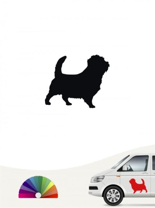 Hunde-Autoaufkleber Norfolk Terrier 1 Mini von Anfalas.de
