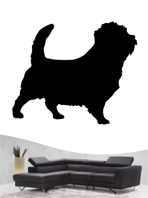 Norfolk Terrier 1 - Wandtattoo