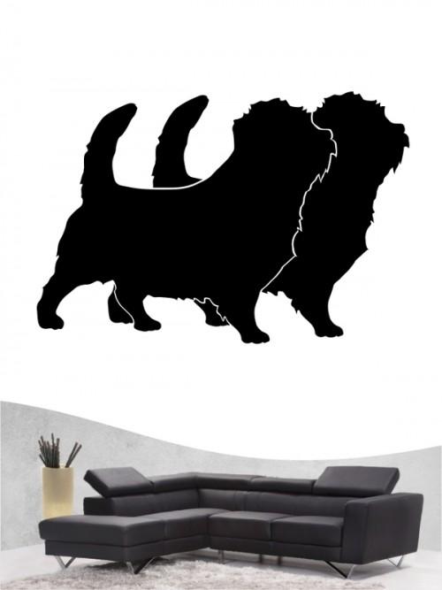 Norfolk Terrier 2 - Wandtattoo