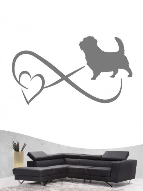Norfolk Terrier 40 - Wandtattoo