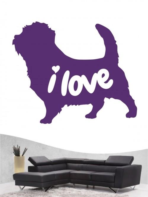 Norfolk Terrier 43 - Wandtattoo