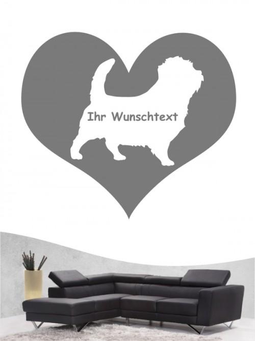 Norfolk Terrier 4 - Wandtattoo