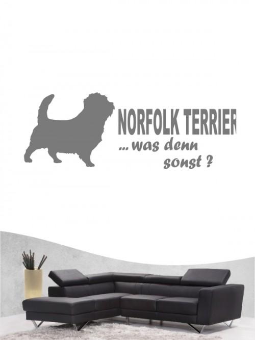 Norfolk Terrier 7 - Wandtattoo