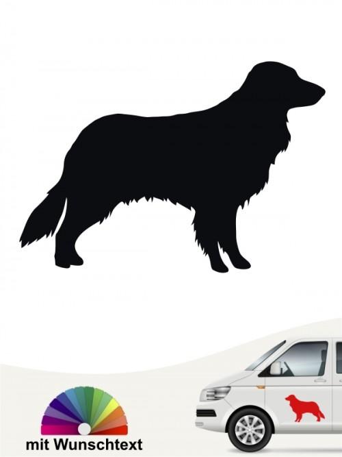Toller Silhouette Autoaufkleber von anfalas.de