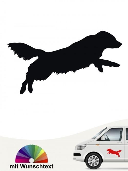 Toller Autoaufkleber mit Wunschtext von anfalas.de
