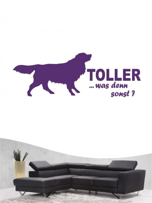 Nova Scotia Duck Tolling Retriever 7 - Wandtattoo
