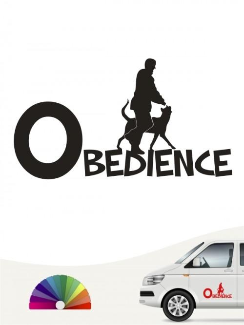 Obedience Aufkleber von anfalas.de