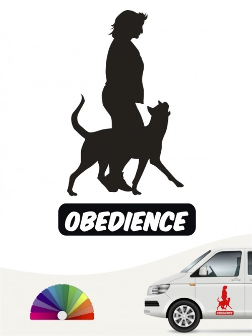 Obedience Sticker von anfalas.de