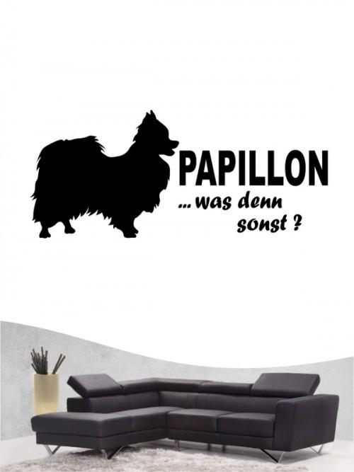 Papillon 7 - Wandtattoo