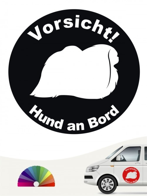 Pekinese Aufkleber von anfalas.de