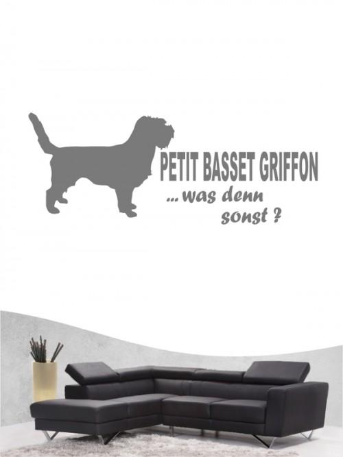 Petit Basset Griffon 7 - Wandtattoo