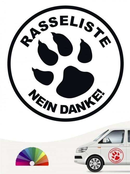 Hunde-Autoaufkleber Pfoten 43 von Anfalas.de