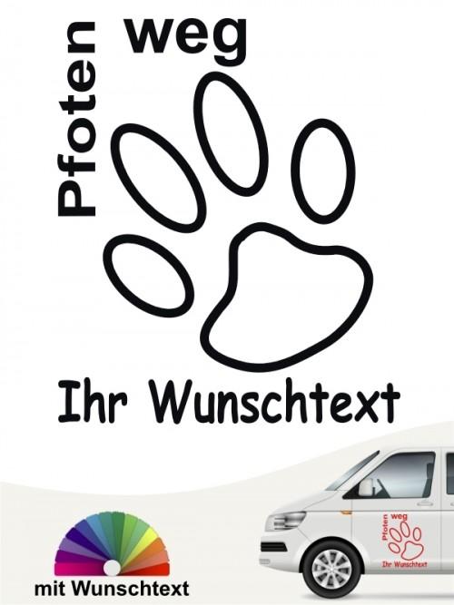 Hunde-Autoaufkleber 7a von Anfalas.de