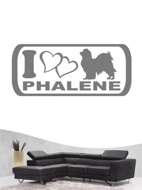 Phalene 6 - Wandtattoo