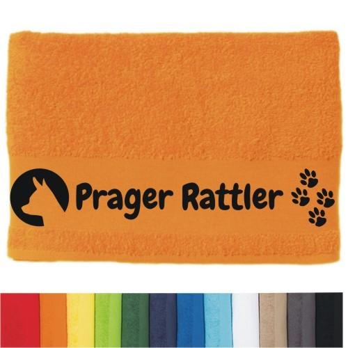 """DOG - Handtuch """"Prager Rattler"""" selbst gestalten   ANFALAS"""