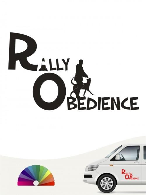 Rally Obedience Team Aufkleber von anfalas.de