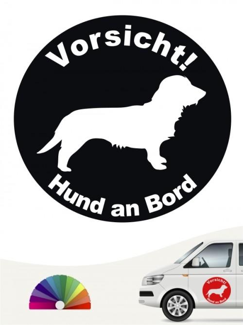 Rauhaar Dackel Aufkleber von anfalas.de