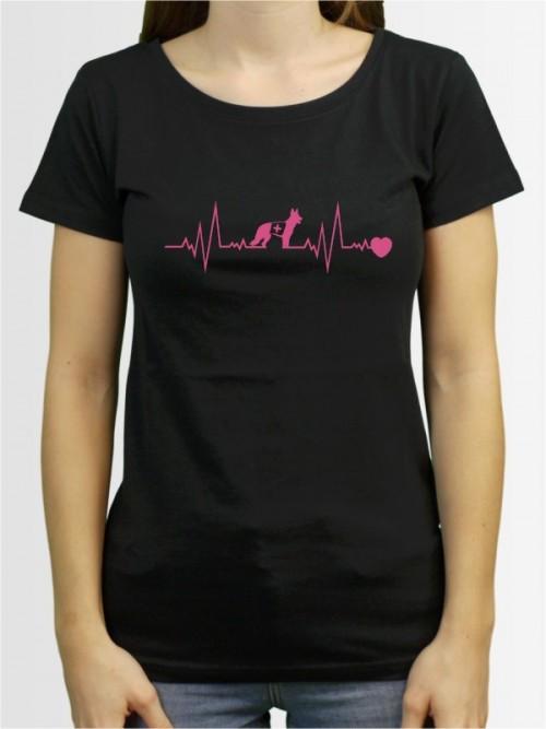 """""""Rettungshundearbeit 41"""" Damen T-Shirt"""