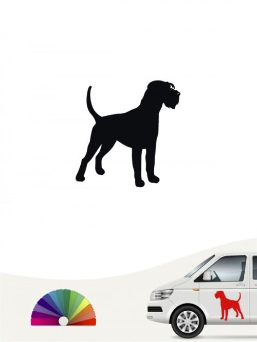 Hunde-Autoaufkleber Riesenschnauzer 1 Mini von Anfalas.de