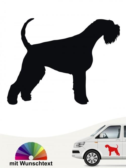 Hunde-Autoaufkleber Riesenschnauzer 1a von Anfalas.de