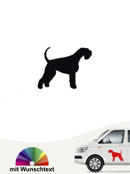 Hunde-Autoaufkleber Riesenschnauzer 1a Mini von Anfalas.de
