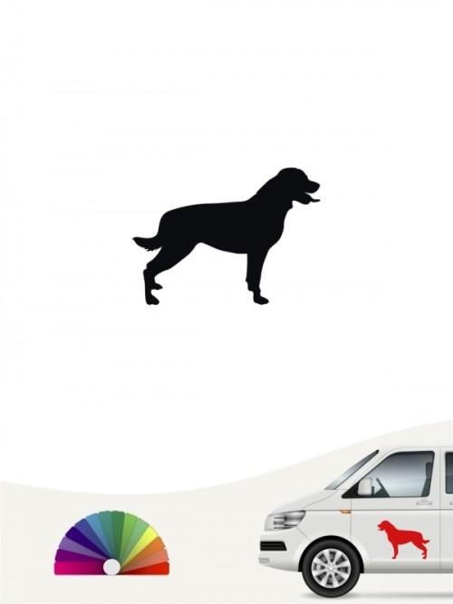 Hunde-Autoaufkleber Rottweiler 1 Mini von Anfalas.de