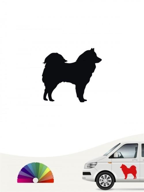 Hunde-Autoaufkleber Samojede 1 Mini von Anfalas.de