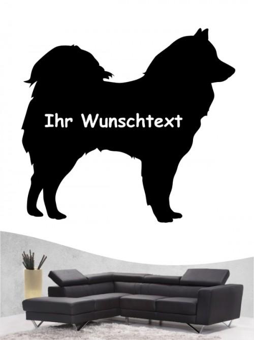 Samojede 3 - Wandtattoo