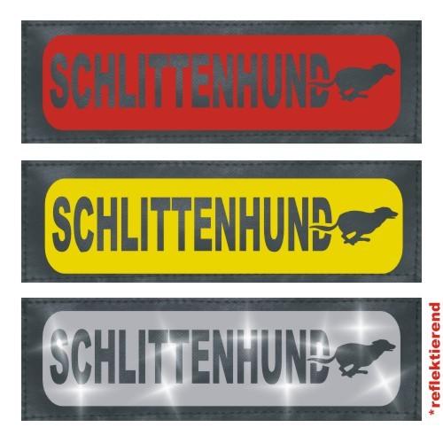 Klettlogo Schlittenhund Beispielbild Wunschlogo24.de 1